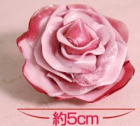 Additive-free handmade rose-shaped candy from Aruheido in Sakai