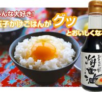 """Chitose"" soy sauce for raw egg and rice"